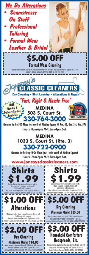"Like us on Facebook and look for Facebook ONLY specials from Classic Cleaners in your news feed on Thursdays. Each Facebook only special will be honored until the following Monday. Simply tell the CSR at the time of drop off, ""I saw this special on Facebook"" to receive the savings*."